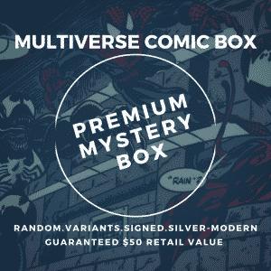 premium comic book mystery box