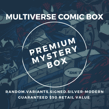 superior monthly comic book mystery box premium