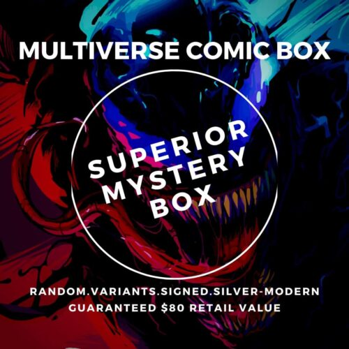superior comic book mystery box